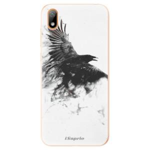Silikonové odolné pouzdro iSaprio - Dark Bird 01 na mobil Huawei Y5 2019