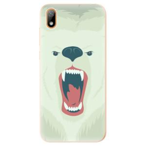 Silikonové odolné pouzdro iSaprio - Angry Bear na mobil Huawei Y5 2019