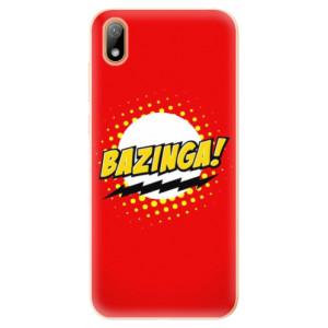Silikonové odolné pouzdro iSaprio - Bazinga 01 na mobil Huawei Y5 2019