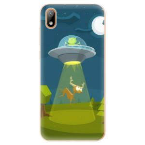 Silikonové odolné pouzdro iSaprio - Alien 01 na mobil Huawei Y5 2019