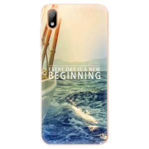 Silikonové odolné pouzdro iSaprio - Beginning na mobil Huawei Y5 2019