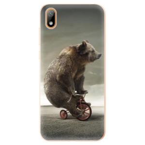 Silikonové odolné pouzdro iSaprio - Bear 01 na mobil Huawei Y5 2019