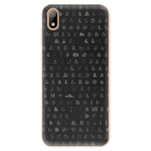 Silikonové odolné pouzdro iSaprio - Ampersand 01 na mobil Huawei Y5 2019