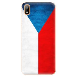 Silikonové odolné pouzdro iSaprio - Czech Flag na mobil Huawei Y5 2019