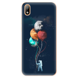 Silikonové odolné pouzdro iSaprio - Balloons 02 na mobil Huawei Y5 2019
