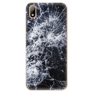 Silikonové odolné pouzdro iSaprio - Cracked na mobil Huawei Y5 2019