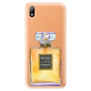 Silikonové odolné pouzdro iSaprio - Chanel Gold na mobil Huawei Y5 2019