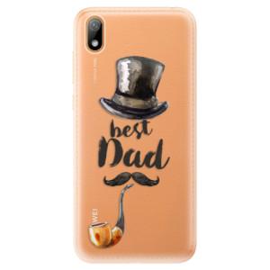 Silikonové odolné pouzdro iSaprio - Best Dad na mobil Huawei Y5 2019