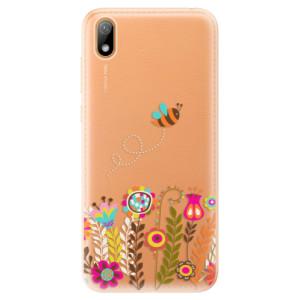 Silikonové odolné pouzdro iSaprio - Bee 01 na mobil Huawei Y5 2019