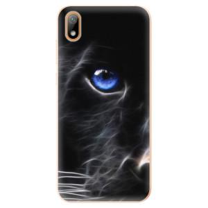 Silikonové odolné pouzdro iSaprio - Black Puma na mobil Huawei Y5 2019