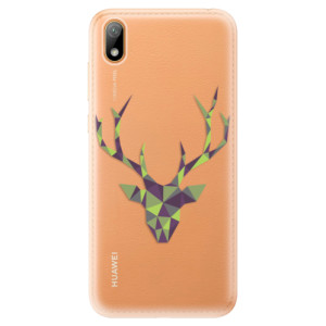 Silikonové odolné pouzdro iSaprio - Deer Green na mobil Huawei Y5 2019