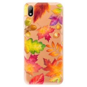 Silikonové odolné pouzdro iSaprio - Autumn Leaves 01 na mobil Huawei Y5 2019