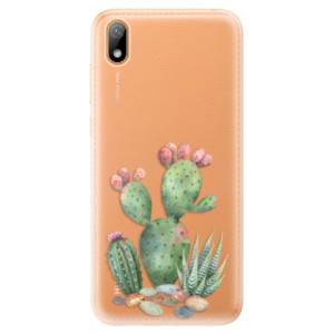 Silikonové odolné pouzdro iSaprio - Cacti 01 na mobil Huawei Y5 2019