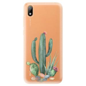 Silikonové odolné pouzdro iSaprio - Cacti 02 na mobil Huawei Y5 2019