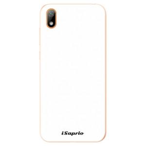 Silikonové odolné pouzdro iSaprio - 4Pure - bílé na mobil Huawei Y5 2019
