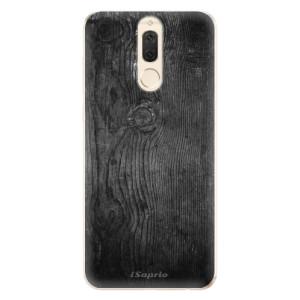 Silikonové odolné pouzdro iSaprio - Black Wood 13 na mobil Huawei Mate 10 Lite