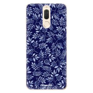 Silikonové odolné pouzdro iSaprio - Blue Leaves 05 na mobil Huawei Mate 10 Lite