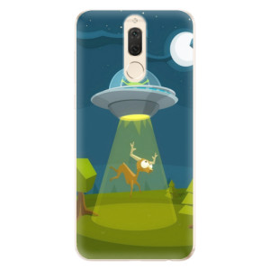Silikonové odolné pouzdro iSaprio - Alien 01 na mobil Huawei Mate 10 Lite