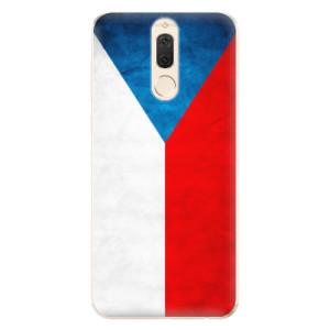 Silikonové odolné pouzdro iSaprio - Czech Flag na mobil Huawei Mate 10 Lite