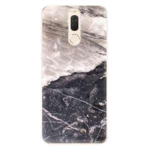 Silikonové odolné pouzdro iSaprio - BW Marble na mobil Huawei Mate 10 Lite