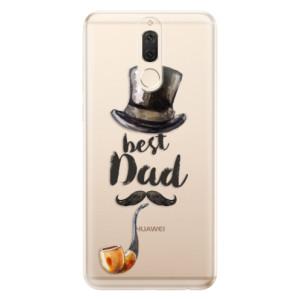 Silikonové odolné pouzdro iSaprio - Best Dad na mobil Huawei Mate 10 Lite