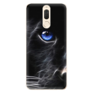 Silikonové odolné pouzdro iSaprio - Black Puma na mobil Huawei Mate 10 Lite