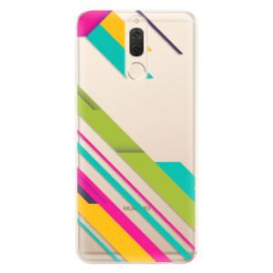 Silikonové odolné pouzdro iSaprio - Color Stripes 03 na mobil Huawei Mate 10 Lite