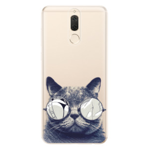 Silikonové odolné pouzdro iSaprio - Crazy Cat 01 na mobil Huawei Mate 10 Lite