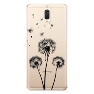 Silikonové odolné pouzdro iSaprio - Three Dandelions - black na mobil Huawei Mate 10 Lite