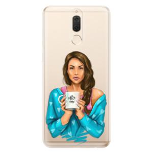 Silikonové odolné pouzdro iSaprio - Coffe Now - Brunette na mobil Huawei Mate 10 Lite