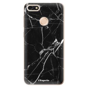 Silikonové odolné pouzdro iSaprio - Black Marble 18 na mobil Huawei P9 Lite Mini