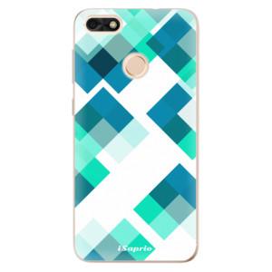 Silikonové odolné pouzdro iSaprio - Abstract Squares 11 na mobil Huawei P9 Lite Mini