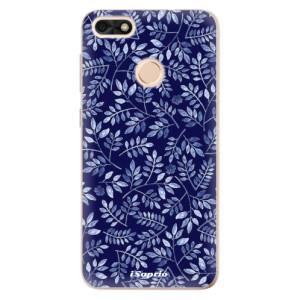 Silikonové odolné pouzdro iSaprio - Blue Leaves 05 na mobil Huawei P9 Lite Mini