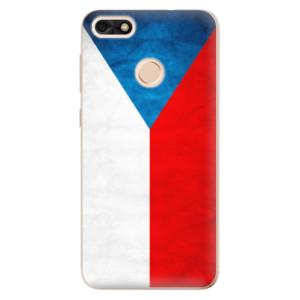 Silikonové odolné pouzdro iSaprio - Czech Flag na mobil Huawei P9 Lite Mini