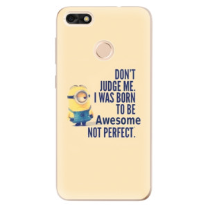 Silikonové odolné pouzdro iSaprio - Be Awesome na mobil Huawei P9 Lite Mini