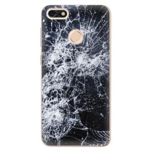 Silikonové odolné pouzdro iSaprio - Cracked na mobil Huawei P9 Lite Mini