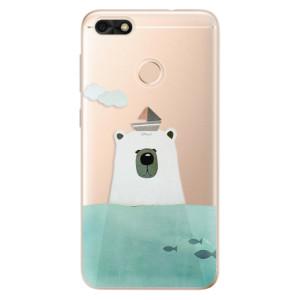 Silikonové odolné pouzdro iSaprio - Bear With Boat na mobil Huawei P9 Lite Mini