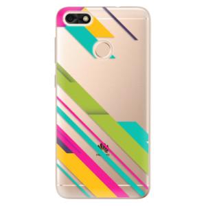 Silikonové odolné pouzdro iSaprio - Color Stripes 03 na mobil Huawei P9 Lite Mini