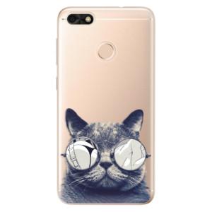 Silikonové odolné pouzdro iSaprio - Crazy Cat 01 na mobil Huawei P9 Lite Mini