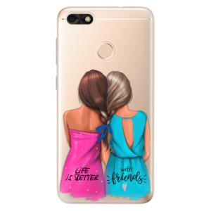 Silikonové odolné pouzdro iSaprio - Best Friends na mobil Huawei P9 Lite Mini