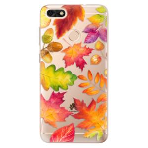 Silikonové odolné pouzdro iSaprio - Autumn Leaves 01 na mobil Huawei P9 Lite Mini