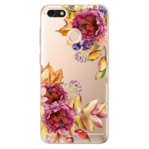 Silikonové odolné pouzdro iSaprio - Fall Flowers na mobil Huawei P9 Lite Mini