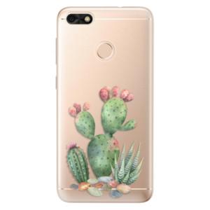 Silikonové odolné pouzdro iSaprio - Cacti 01 na mobil Huawei P9 Lite Mini