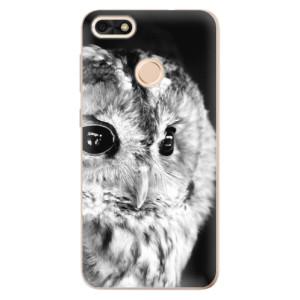 Silikonové odolné pouzdro iSaprio - BW Owl na mobil Huawei P9 Lite Mini