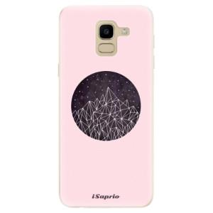 Silikonové odolné pouzdro iSaprio - Digital Mountains 10 na mobil Samsung Galaxy J6