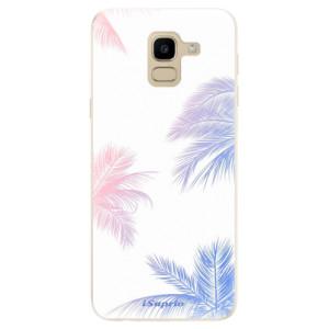 Silikonové odolné pouzdro iSaprio - Digital Palms 10 na mobil Samsung Galaxy J6