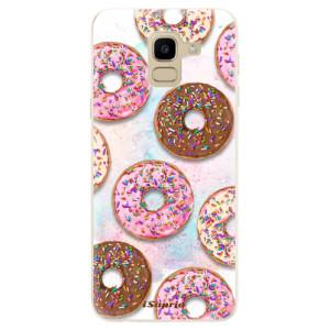 Silikonové odolné pouzdro iSaprio - Donuts 11 na mobil Samsung Galaxy J6