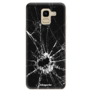 Silikonové odolné pouzdro iSaprio - Broken Glass 10 na mobil Samsung Galaxy J6
