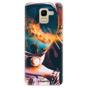 Silikonové odolné pouzdro iSaprio - Astronaut 01 na mobil Samsung Galaxy J6