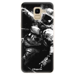 Silikonové odolné pouzdro iSaprio - Astronaut 02 na mobil Samsung Galaxy J6